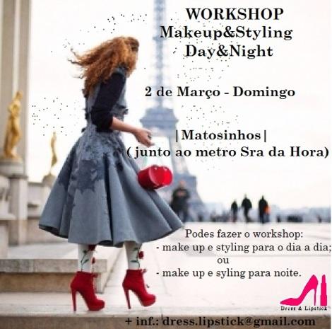 Workshop dia 2 de Março  - Domingo